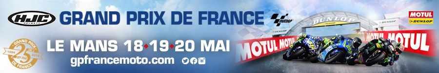 Pub Moto GP France mobile