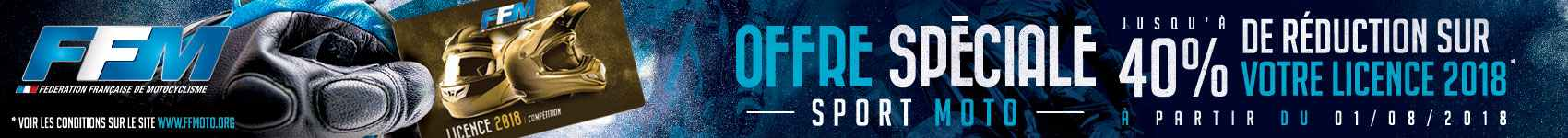 Licence offre speciale